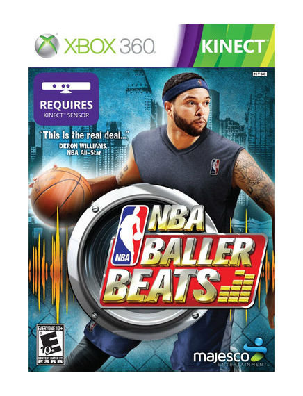NBA Baller Beats Xbox 360 Video Game